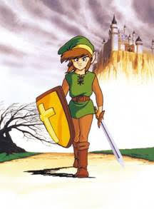 Legend Of Zelda Wall Scroll L105