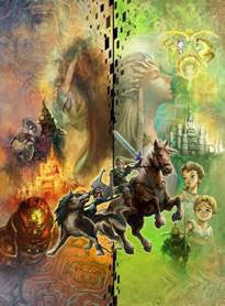 Legend Of Zelda Wall Scroll P011