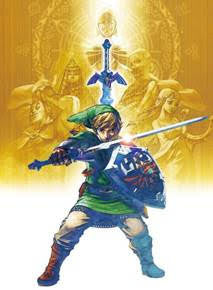 Legend Of Zelda Wall Scroll P012