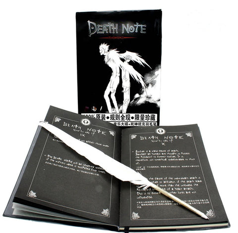 Death Note and Feathered Pen