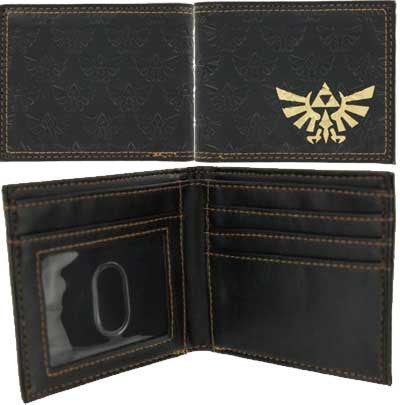 Zelda Twilight Princess Gold Embossed Wallet