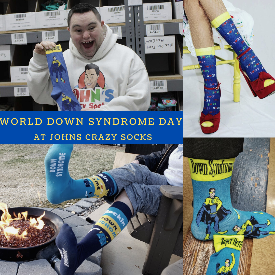 John's Crazy Socks Can Help You Celebrate World Down Syndrome Day