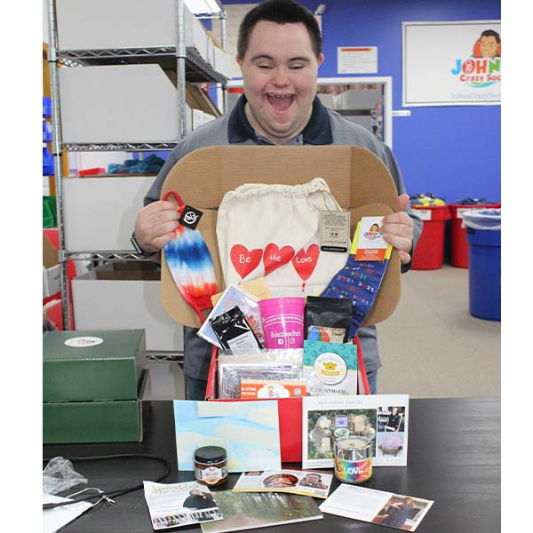 John's Crazy Socks Introduces Down Syndrome Super Box Showcasing Entrepreneurs with Down Syndrome