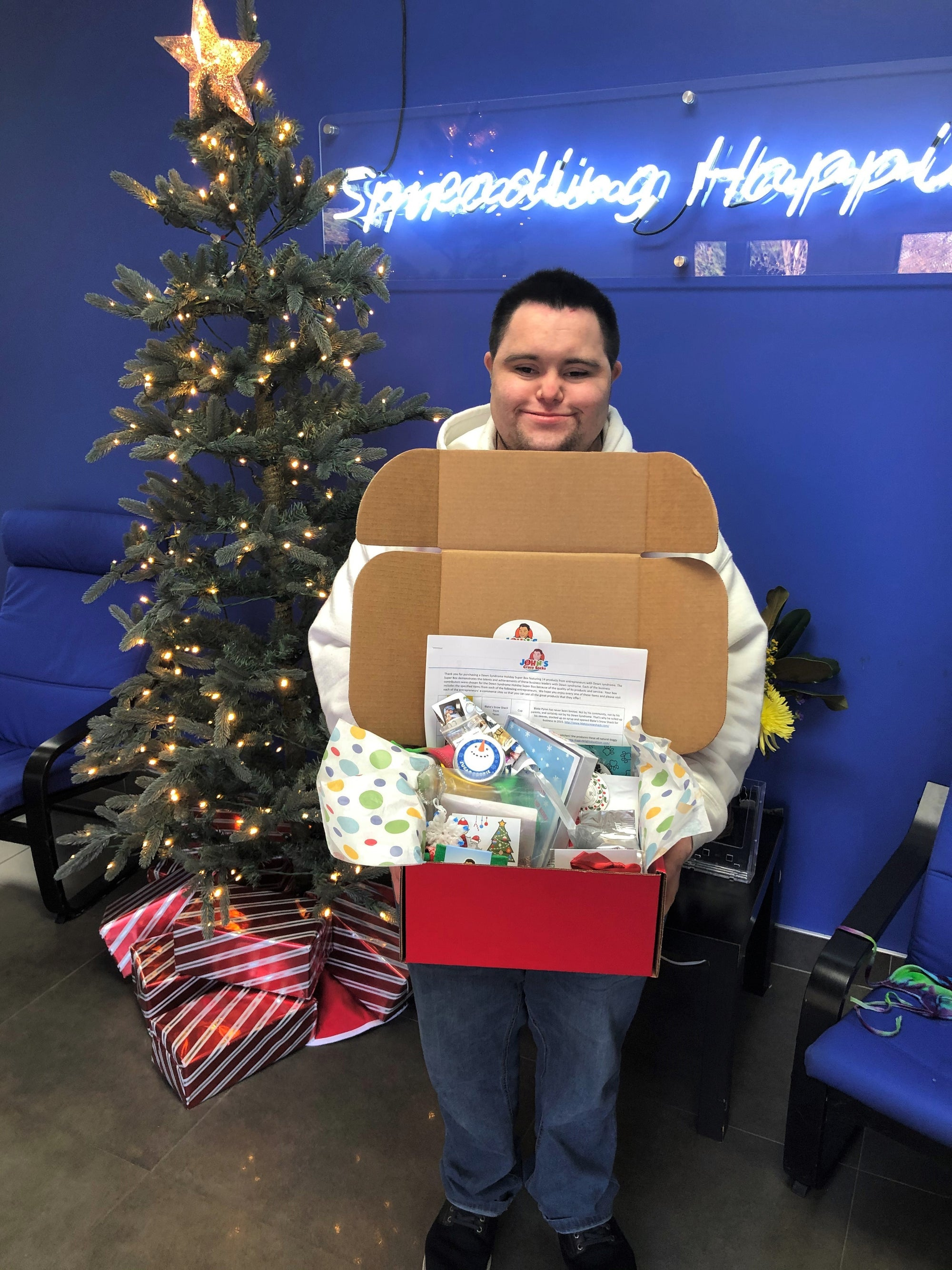 Down Syndrome Holiday Super Box Showcases Entrepreneurs with Down Syndrome