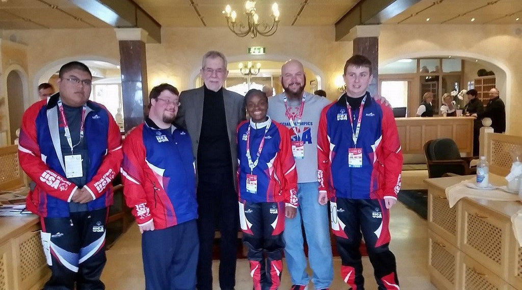 Liam Mrotzek Returns Home from the Special Olympics Winter World Games in Austria