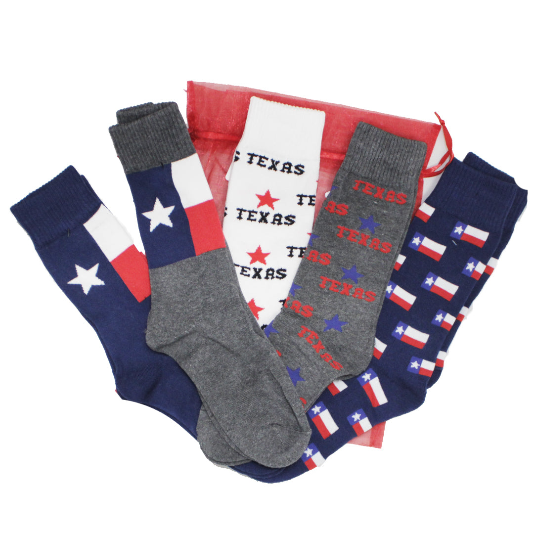 John's Crazy Socks Creates Texas Strong Gift Pack to Support Texans During Crisis