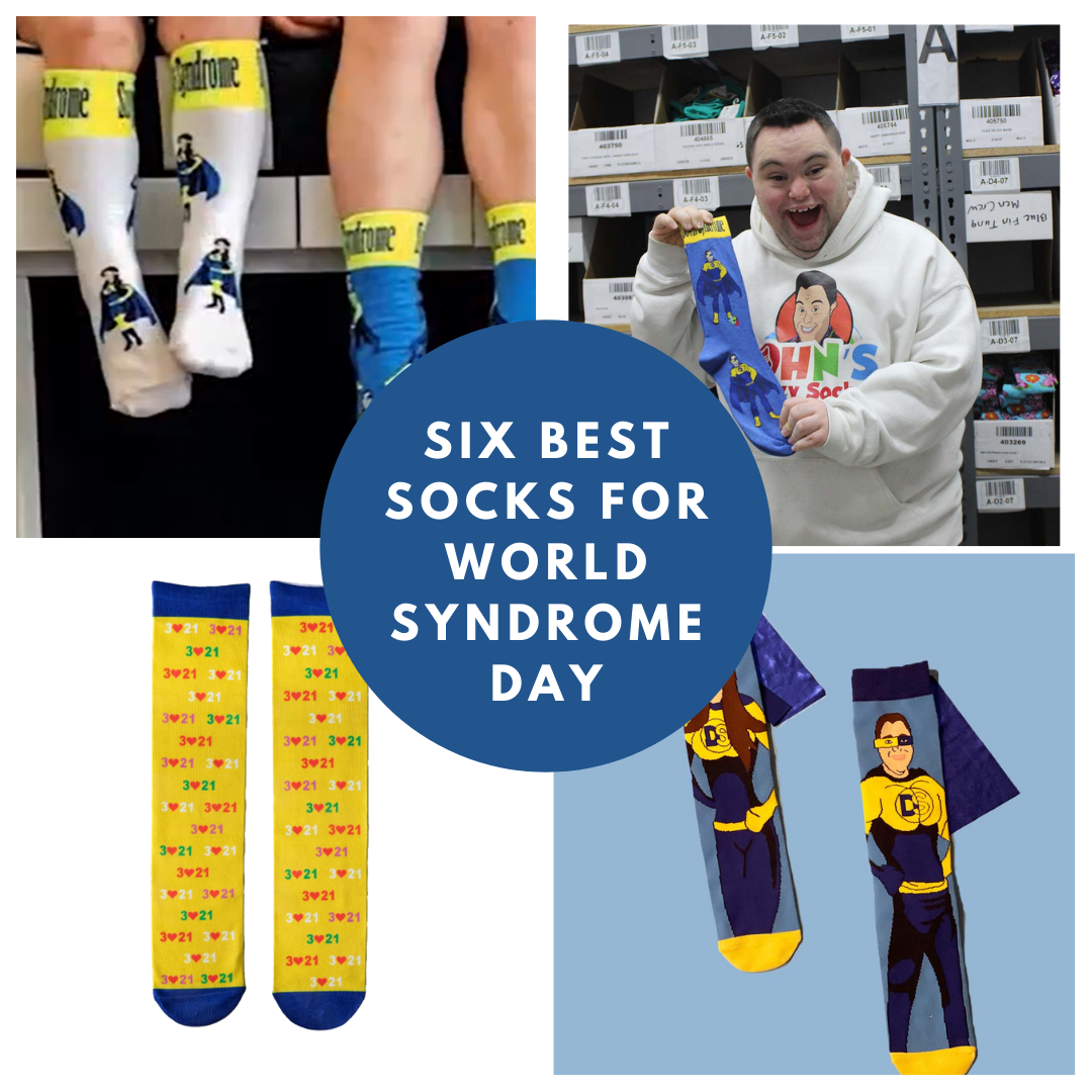 John Cronin's Six Favorite Socks for World Down Syndrome Day