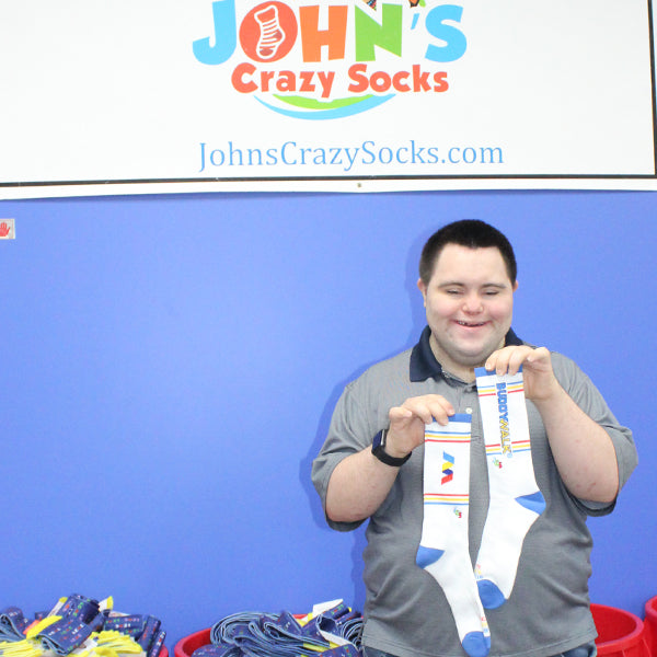 John's Crazy Socks Releases Buddy Walk® Socks to Support the National Down Syndrome Society