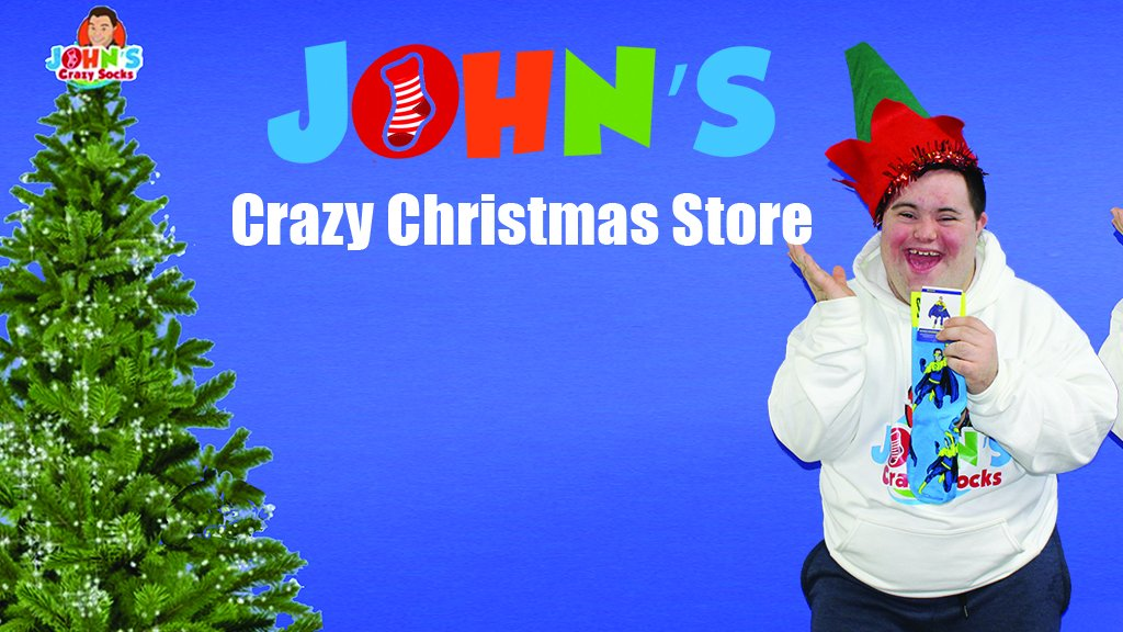 John's Crazy Socks Launches Crowdfunding Campaign to Start New Line of Business: John's Crazy Christmas Store