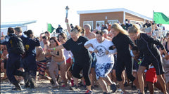 John Doing the Polar PLunge