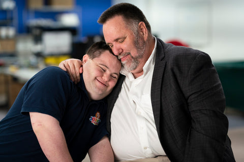 John and Mark Hug