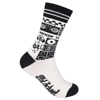 Old School Unisex Crew Socks