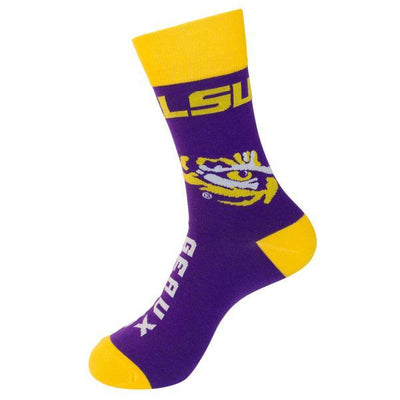 LSU Tigers Unisex Crew Socks