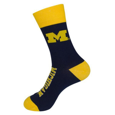 Michigan Wolverines Unisex Crew Socks