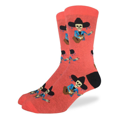 Mariachi Skeleton Crew Socks