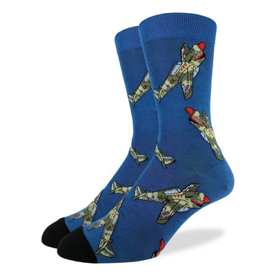 Fighter Jets Socks Men's Crew Sock