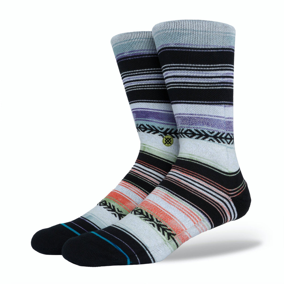 Reykir Men's Crew Sock Stripes