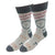 5 O'clock Somewhere Socks Men's Sock Grey