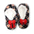 Red Bow Christmas Sherpa Slipper