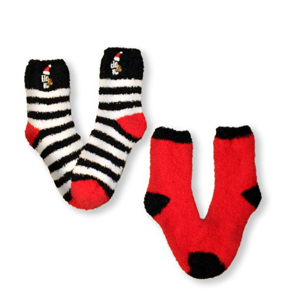 Fuzzy HOHOHO Women's 2 Pack Socks