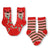 Reindeer Socks Children's Christmas 2 Pack Sock