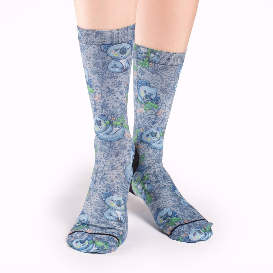 Koalas Socks Active Fit Crew for Women