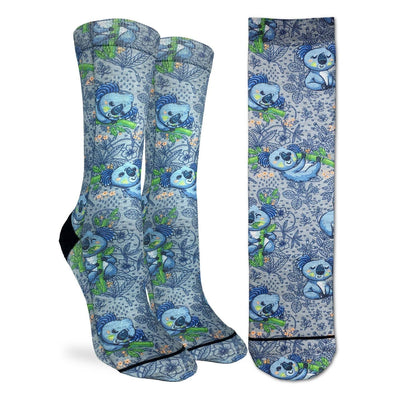 Koalas Socks Women's Active Fit Crew Sock