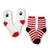Fuzzy Penguin Women's 2 Pack Socks