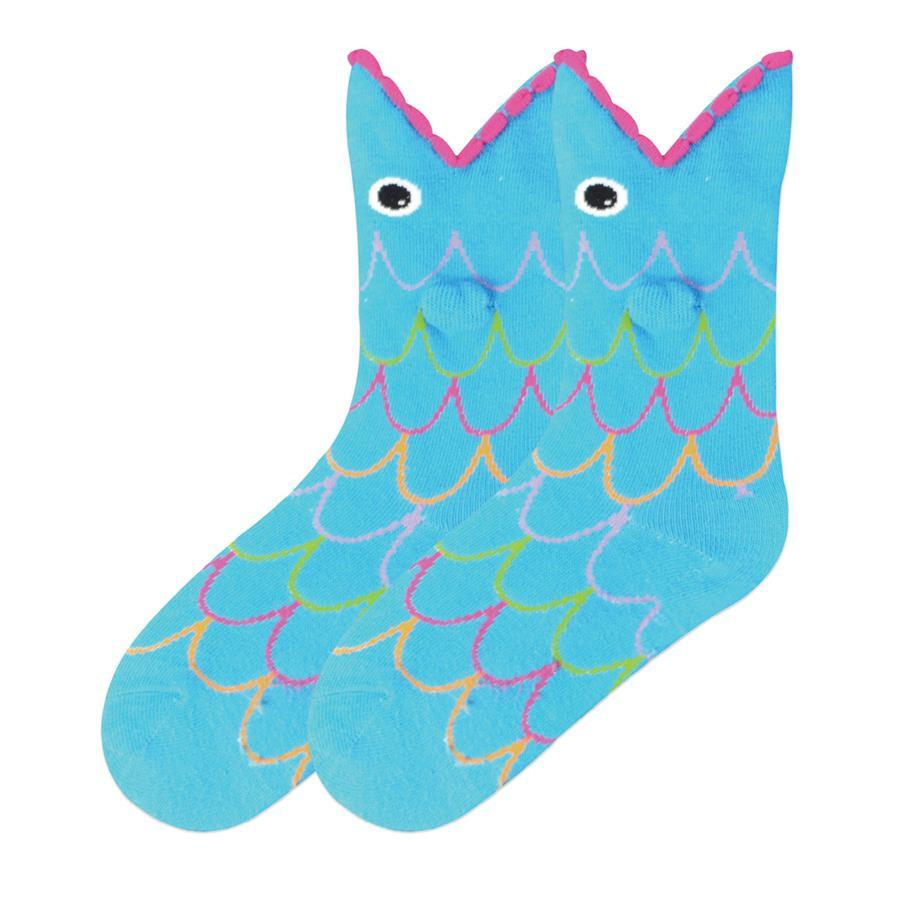 Wide Mouth Fish Socks