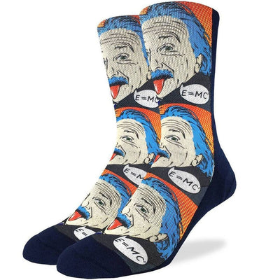 Albert Einstein Pop Art Sock Men's Sock