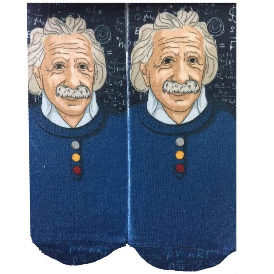 Albert Einstein Socks Ankle Sock