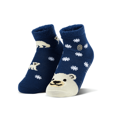 Angel's Polar Bears Fuzzy Socks
