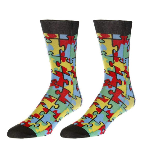 f29d02e35f68 Autism Awareness Socks Unisex Crew Sock