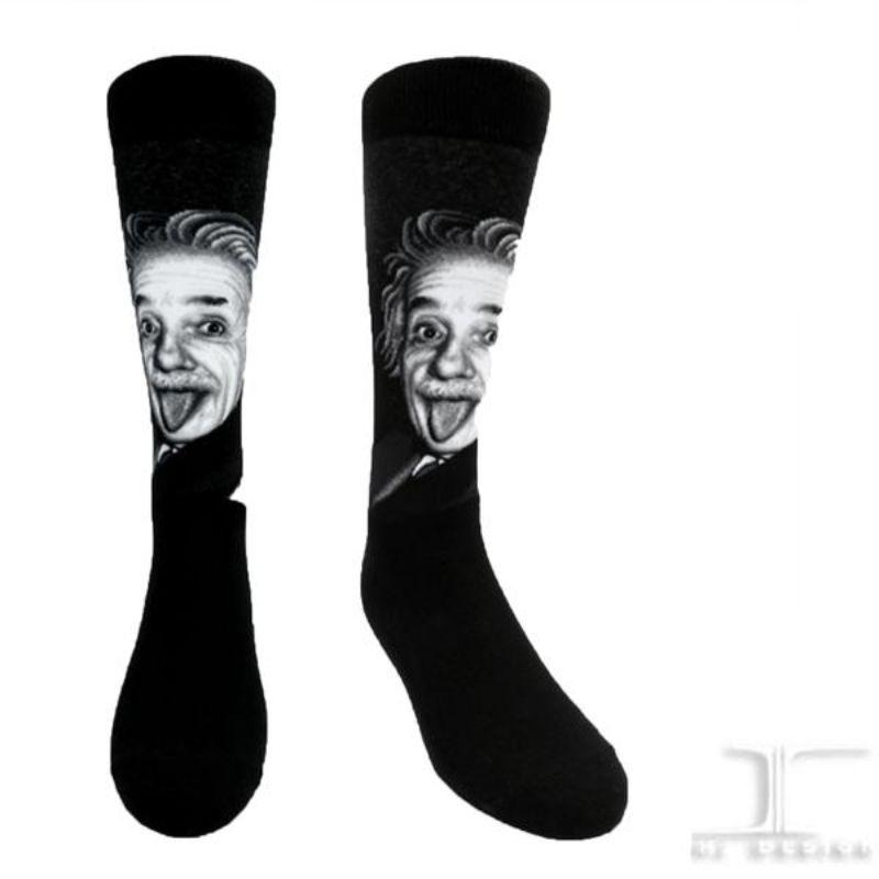 albert-einstein-socks-crew-socks-for-women