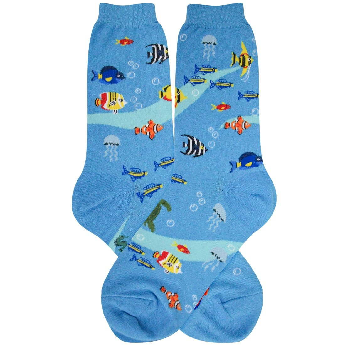 Aquarium Socks Women's Crew Sock