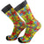 Autism Awareness Socks Unisex Crew Sock Rainbow