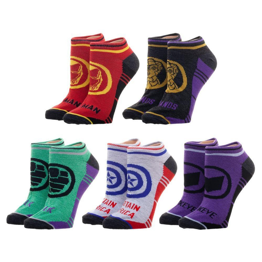 Avengers Endgame Socks Women's Ankle Pack
