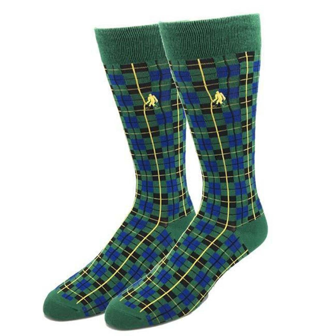 Bamboo Highland Socks Men's Dress Sock Green