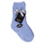 Solid Kids Fuzzy Socks Light Blue / Kids