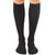 Black Unisex Compression Knee High Sock