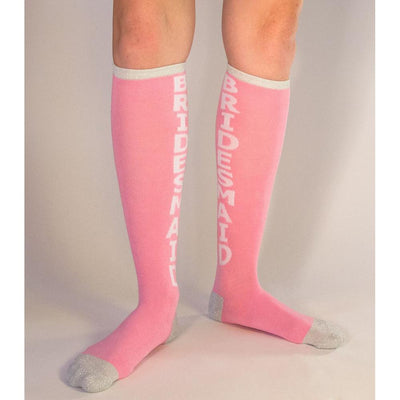 Bridesmaid Socks Women's  Knee High Sock