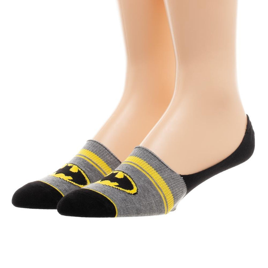Batman 2 Pack Liner Socks for Men