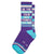 Be The Person Your Dog Thinks You Are Unisex Gym Sock Purple