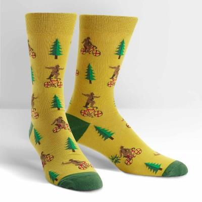 Bike Tricks Socks Men's Crew Sock