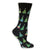 Christmas Trees Women's Holiday Sock Black