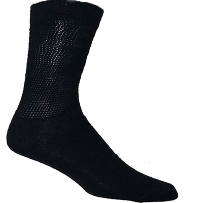 Diabetic Support Socks Black