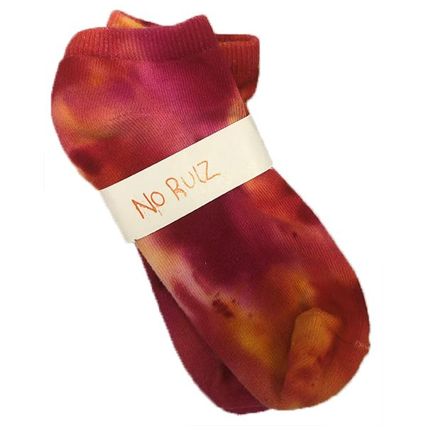 No Rulz Art Socks Rainbow No Show Sock Blossom