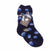 Dot Print Fuzzy Kids Socks Kids / Blue