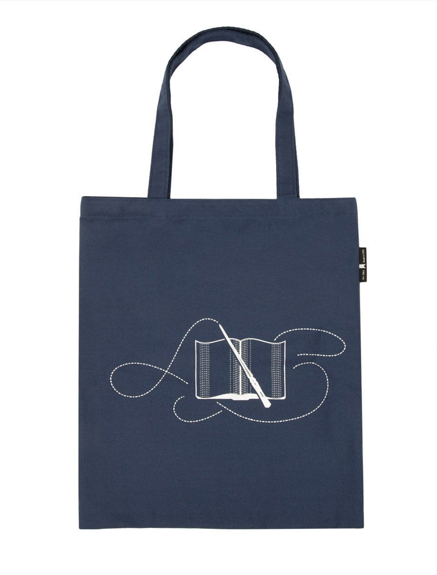 Books Turn Muggles into Wizards Tote Bag-Front