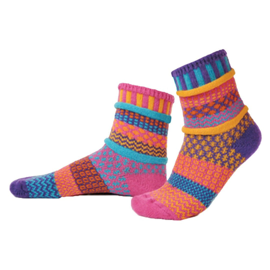 Carnation Cotton Crew Socks